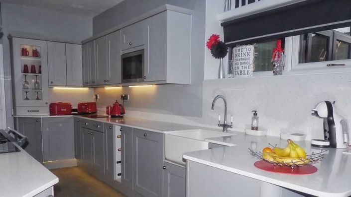 Finch's worktops used by - Angela Sanderson Interiors
